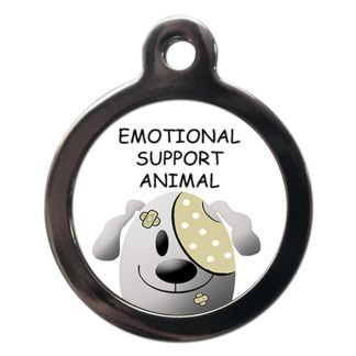 Emotional Support Animal ME68 Dog ID Tag