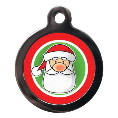 Father Christmas FE19 Festive Christmas Dog ID Tag
