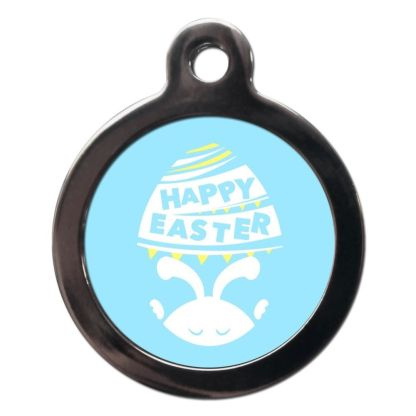 Happy Easter FE31 Festive Easter Dog ID Tag