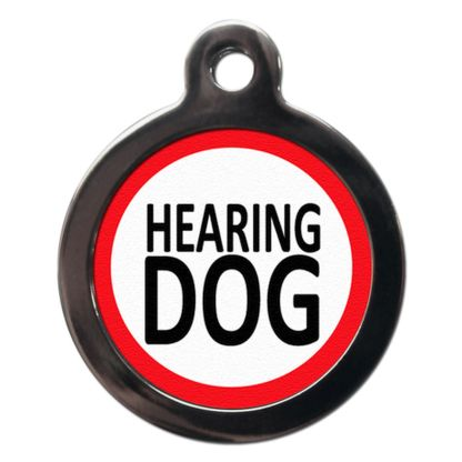 Hearing Dog ME5 Dog ID Tag