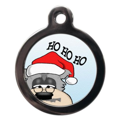 Ho Ho Ho FE5 Festive Christmas Dog ID Tag