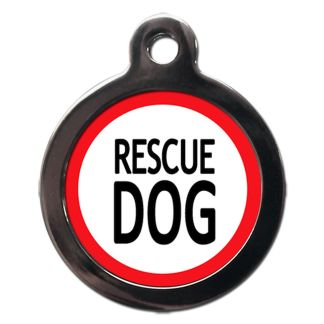 Rescue Dog ME39 Dog ID Tag