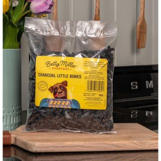 060525770647 Betty Miller Charcoal Little Bones 500g Biscuit Treats