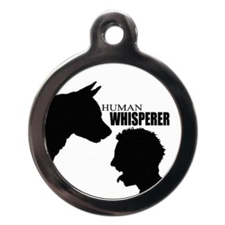 Human Whisperer CO36 Comic Dog ID Tag