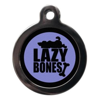Lazy Bones CO66 Comic Dog ID Tag