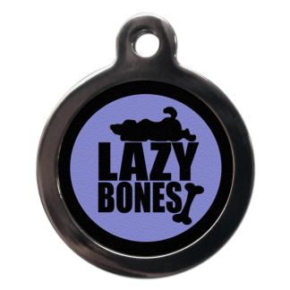 Lazy Bones CO66 Comic Dog ID Tag