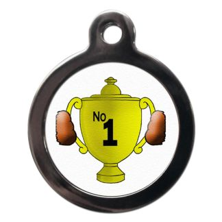Number 1 CO34 Comic Dog ID Tag