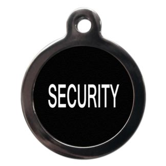 Security CO44 Comic Dog ID Tag