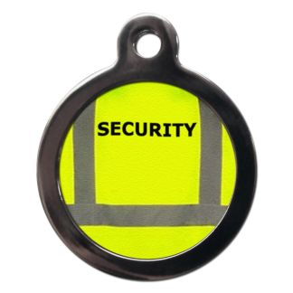 Security Vest CO46 Comic Dog ID Tag