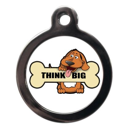 Think Big CO89 Comic Dog ID Tag