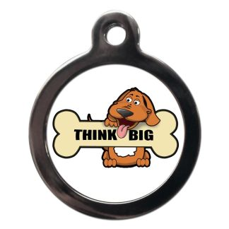 Think Big CO89 Comic Dog ID Tag