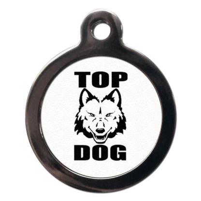 Top Dog CO63 Comic Dog ID Tag