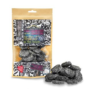 703625145797 Green & Wild's Fish Crunchies with Added Charcoal 100g