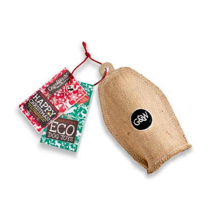 610696119469 Small Crinkler Eco Dog Toy