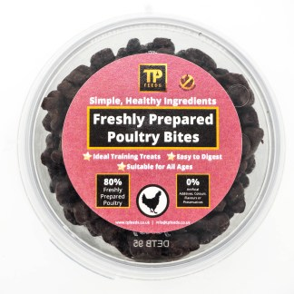 TP Feeds Freshly Prepared Poultry Bites 100g