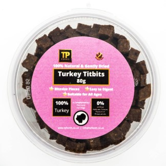 TP Feeds Turkey Titbits 80g