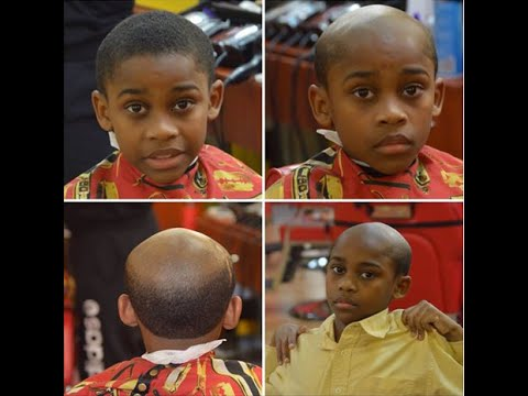Barber Gives Misbehaving Kids A George Jefferson Haircut