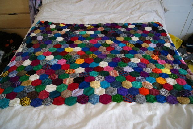 http://www.ravelry.com/projects/fak/the-beekeepers-quilt