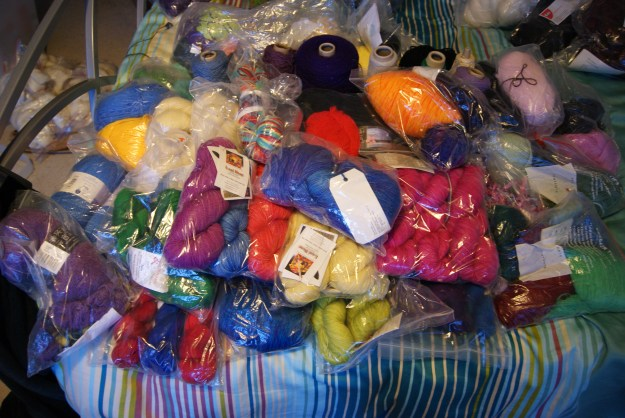 Commercial yarn stash January 2016
