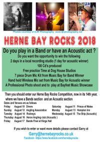 Herne Bay Rocks 2018