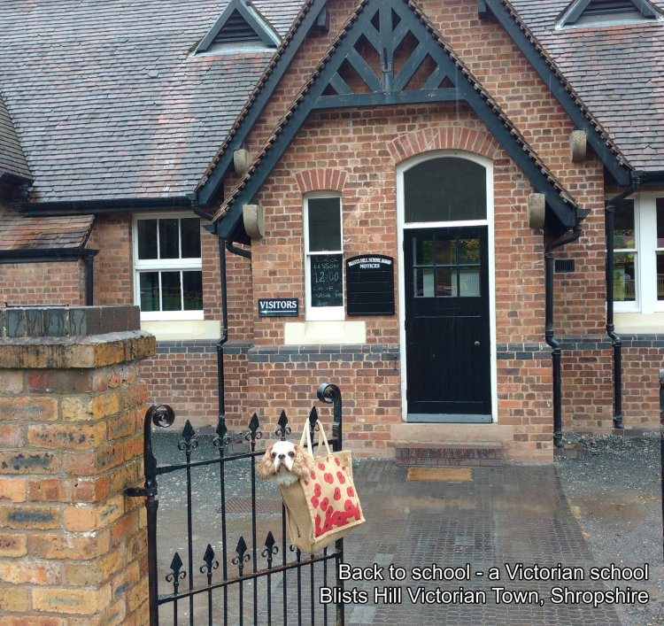 SEPTEMBER - Back to school - a Victorian school, Blists Hill Victorian Town, Shropshire