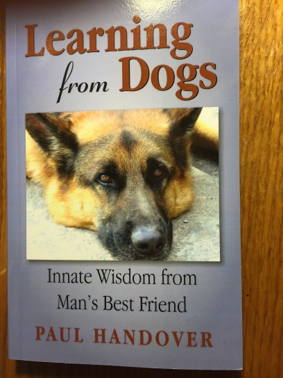 Paul Handover's nonfiction book on the innate wisdom of dogs