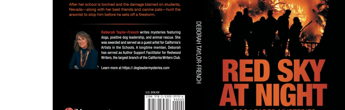 5 Stars to Red Sky at Night: Dog Leader Mysteries