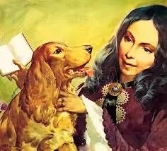 Elizabeth Barrett Browning and Dog