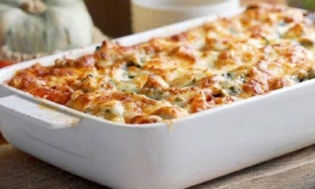 Αποτέλεσμα εικόνας για Αγιορείτικη συνταγή: Παστίτσιο με ρεβύθια και μπεσαμέλ λαχανικών