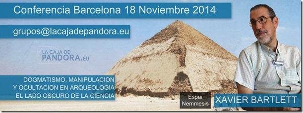 Conferencia Dogmatismo, manipulacion  y ocultacion en arqueologia, el lado oscuro de la ciencia