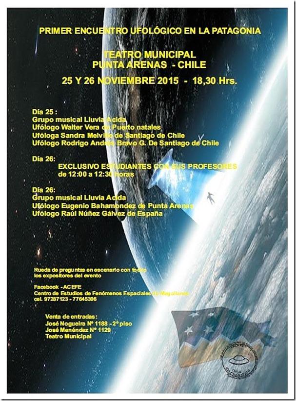 Primer Encuentro Ufológico en la Patagonia