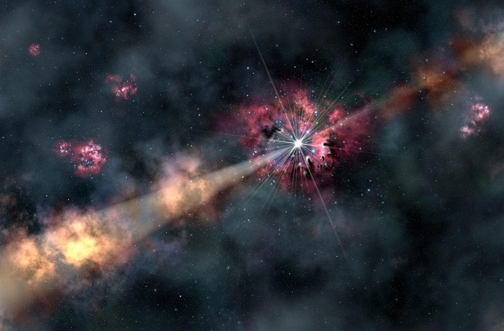 Resultado de imagen de Fermi quiere descubrir el Universo de los rayos gamma