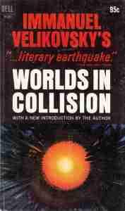 """Portada del libro """"Worls in Collision"""""""