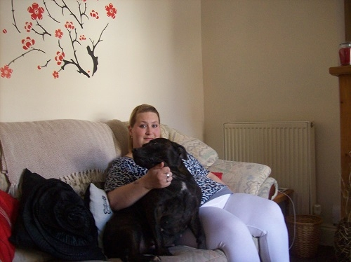 dog helps owner cope with diabetes