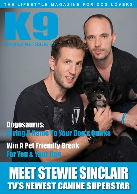 K9 Magazine Issue 77 Cover (Stewie Sinclair) - LR