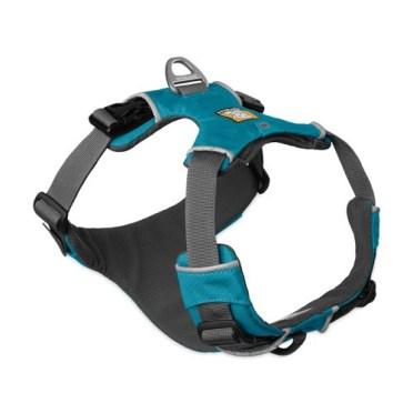 Ruffwear Front Range harness in Pacific Blue