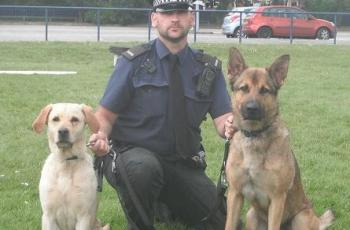 RIP Ghost: Police Dog Killed in Pursuit of Intruders 2