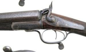 Action on J. Purdey shotgun #6597