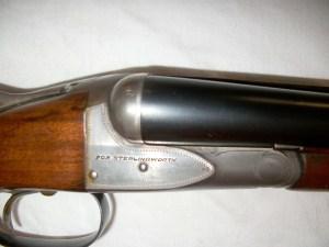 A.H. Fox Sterlingworth Skeet & Upland Game, 20g, double barrel, side-by-side shotgun
