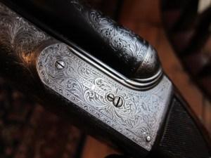 12 gauge Parker AAHE Double Barrel Shotgun
