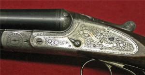 J.P. Sauer Double barrel sidelock shotgun