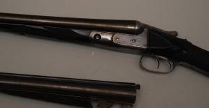 Parker double barrel shotgun