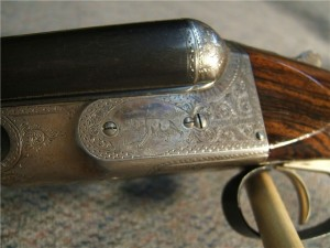 Parker 16g CH grade double barrel shotgun