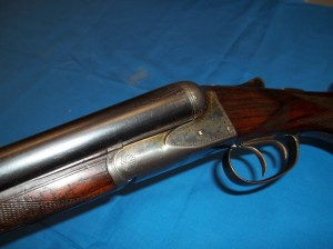 A.H. Fox HE grade 12 gauge shotgun