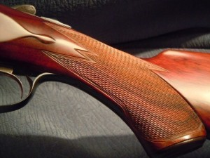 Parker DH grade double barrel shotgun