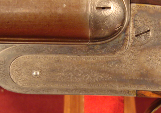 Poor metal-to-metal fit on a 19th century Purdey