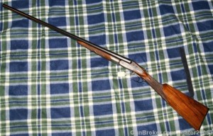 20g Lefever F grade double barrel shotgun