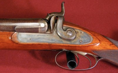 Patrick Mullin 8 gauge percussion shotgun