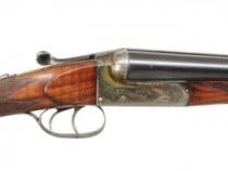 20 gauge F. Beesley double barrel shotgun