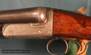 W.J. Jeffrey Boxlock Ejector Shotgun